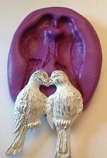 Doves Silicone Mould. Love Birds.Shabby Chic Cupcake Topper. Crafts.wedding.