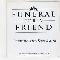 (FO350) Funeral For A Friend, Kicking And Screaming - DJ CD