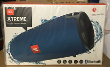 JBL Xtreme Rechargeable Portable Wireless Bluetooth iPhone Speaker Blue NEW