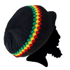 Rasta Rastafari Hat Dreadlocks Cap Cool Runnings Roots Reggae Jamaica Marley M/L