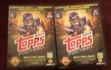 2013 Topps Football 10-Pack Box (PLUS One Patch Card!) Lot Of 2 Boxes.