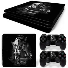 Sony PS4 Playstation 4 Slim Skin Aufkleber Schutzfolie Set - Game Over Motiv