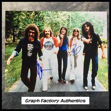 GFA x3 Neal Schon Rock Band * JOURNEY * Signed 11x14 Photo PROOF J3 COA