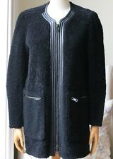 Chloe in Pelle-rifilati SHEARLING CAPPOTTO FR 36 UK 8