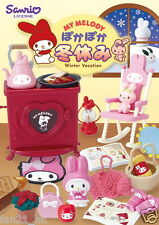 Re-ment Miniature Sanrio My Melody Winter Vacation Set Rement Full Set of 8
