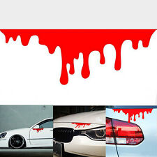 1Pcs Cool Bleeding Car Stickers Tail Light Window Decals Warning Stickers