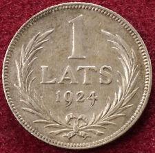 Letonia 1 lats 1924 (B2703)