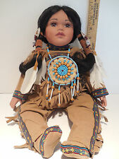 Native American Timeless Collection (?) DOLL Indian Girl 991/2500