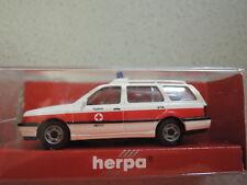 Herpa 042338 VW Golf NEF DRK Fürth in OVP aus  Sammlung (3)