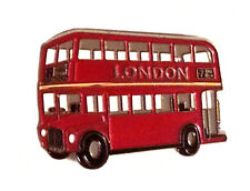 ALL METAL FRIDGE MAGNET - UNION JACK LONDON SOUVENIRS GIFT METAL RED BUS MAGNET
