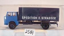Brekina 1/87 82235 Henschel HS 16 LKW Pritsche LKW Strasser Spedition OVP #2584