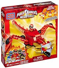 MEGA Bloks Power Rangers 5862-Dragon mechazord NUOVO CON SCATOLA RARA