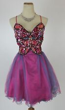 Masquerade USA Grand $140 Evening Prom Short Cocktail Junior Club Dress size 9