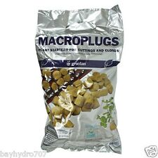 50pc Grodan Macro - Starter - Cloning - Rockwool Root Plugs SAVE $$ W/ BAY HYDRO