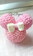 Cake topper minnie topolina in porcellana fredda fimo