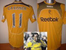 Bolton Wanderers GARDNER Adult M Shirt Jersey Football Soccer Reebok Jamaica Top