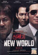 New World 신세계 Korean Movie DVD Excellent English Subtitle ALL Region Box Set