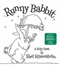 Runny Babbit A Billy Sook Shel Silverstein a Hardcover book FREE SHIPPING PoEtRy