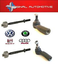 SEAT ALTEA ,XL 2004  FRONT L/R INNER & OUTER TRACK TIE ROD ENDS X2 FAST DISPATCH