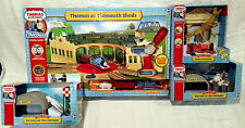 "Thomas & Friends Trackmaster ""Thomas at Tidmouth Sheds"" Lot - New in Box (NISB)"