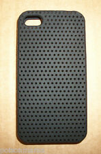 NEW IN BOX BLACK GRIFFIN FLEXGRIP PUNCH SILICONE CASE FOR iPHONE 4 (16GB 32GB))