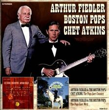 The Pops Goes Country/The Pops Goes West by Chet Atkins/Arthur Fiedler...