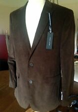 Tommy Hilfiger Brown Corduroy Patched Elbow Jacket Blazer Sport Coat 42L NWT
