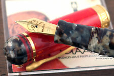 Delta Indigenous Peoples 'Maasai' LE Vermeil Fountain Pen #1880/1880 - M Nib