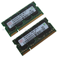 Hynix 4GB 2X2GB DDR2 800mhz PC2-6400 Sodimm Laptop CL6.0 Notebook Memory Ram 2G