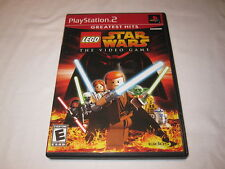LEGO Star Wars: The Video Game (Playstation PS2) GH Game Complete Excellent!
