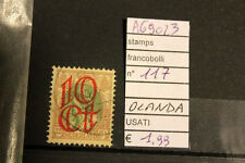 STAMPS FRANCOBOLLI OLANDA USATI N. 117 (A69023)