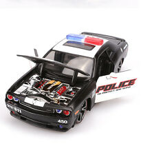 MAISTO DODGE CHALLENGER SRT POLICE CUSTOM SHOP 911 DIECAST MODEL CAR TOY GIFT