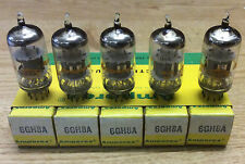 6GH8A Amperex Sleeve of 5 Vacuum Tube NOS NIB Tested Strong (More Available)