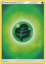 10X Grass Basic Energy -Sun and Moon Base Set- -NM- Pokemon Green Leaf