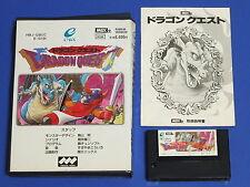 DRAGON QUEST MSX2 ENIX Video Game Import Japan