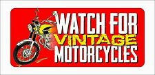 """Watch for Motorcycles"" Honda CB350 Bumper Sticker Vehicle Graphics Window Decal"