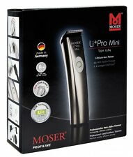 New Moser 1584 LI + PRO MINI Professional Hair Trimmer 110-240V