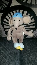 """13"""" TALL RASTAMOUSE  ZOOMER SOFT TOY"""