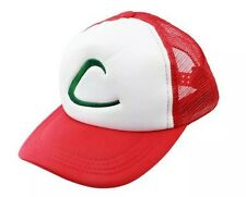 New Pokemon Ash Ketchum Mesh Baseball Cap Hat Anime Cosplay For Men & Women