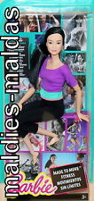 Barbie Made to Move lila Top DHL84 Fitness NEU/OVP Puppe