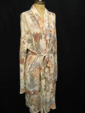 Mes Demoiselles Princy Floral Ecru Belted Long Cardigan Wrap Sweater 1 $598
