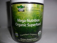 Mega-Nutrition Organic SuperFood:The 8 Ingredient Recipe For Transformed Health