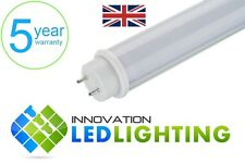 LED T8 Tube Light 18W 4ft 1200mm Fluorescent Replacement - Cool White - Frosted