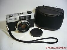 Serviced CLA 1970s Voigtlander VF135 35mm Rangefinder Film Camera + Case & Cap -