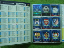 ADRENALYN XL Champions League 2014 / 2015  BINDER ALBUM NORDIC  SET 363 CARDS