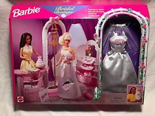 1998 Bridal Boutique Barbie Play Set Sealed In Box 67792 Gown/Dress Veil