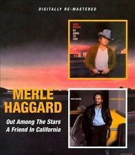 Out Among the Stars/A Friend in California by Merle Haggard (CD, Mar-2010,...