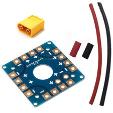 DIY POWER DISTRIBUTION BOARD COMPACT KIT + XT60 QUADCOPTER HEX OCTO TRI ESC RC