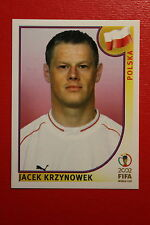 PANINI KOREA JAPAN 2002 # 268 POLSKA KRZYNOWEK WITH BLACK BACK MINT!!!