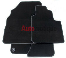 BMW E30 (3 SERIES)  DELUXE CARPET FLOOR MATS + LEATHER TRIM